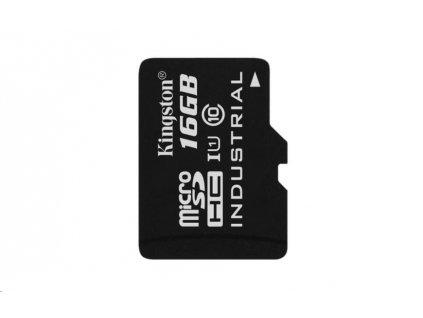 Kingston 16GB microSDHC UHS-I Industrial Temp Card Single Pack (bez adaptéru)