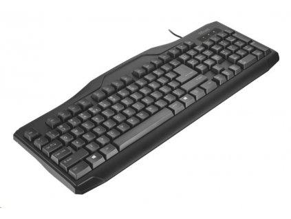 TRUST Klávesnice ClassicLine Keyboard, CZ & SK, USB