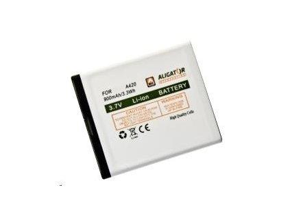 Aligator baterie A420/V500, Li-Ion 900 mAh