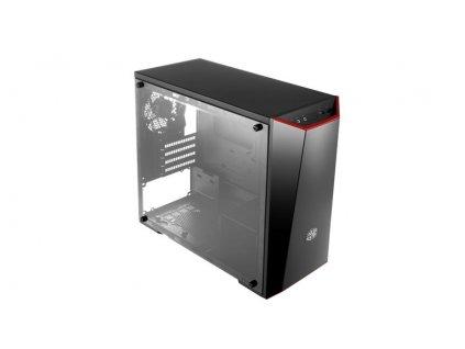 Cooler Master case MasterBox Lite 3.1, micro-ATX, mini-ITX, Mini Tower, černá, bez zdroje