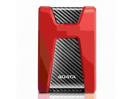 """ADATA Externí HDD 2TB 2,5"""" USB 3.1 DashDrive Durable HD650, červený (gumový, nárazu odolný)"""