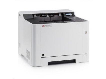 KYOCERA ECOSYS P5021cdn - 21 čb/far.A4, duplex.sieťová laserová tlačiareň, zásobník na 250 listov, vč.tonerov