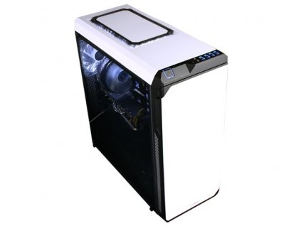 ZALMAN skříň Z9 NEO PLUS, ATX bez zdroje, bílá