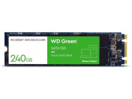 WD GREEN SSD WDS240G2G0B 240GB M.2, (R:540, W:465MB/s)