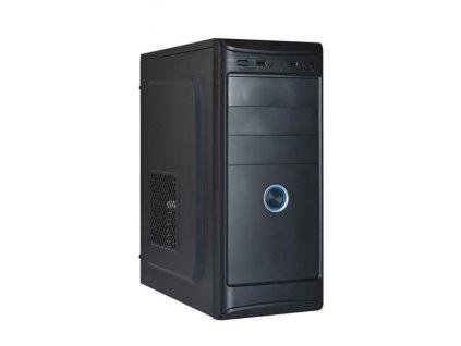 EUROCASE skříň ML X401 EVO black, USB 3.0, 2x audio, bez zdroje