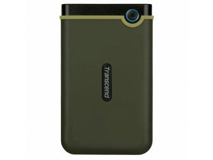 "TRANSCEND externí HDD 2,5"" USB 3.0 StoreJet 25M3G, Slim, 1TB, Black (SATA, Rubber Case, Anti-Shock)"