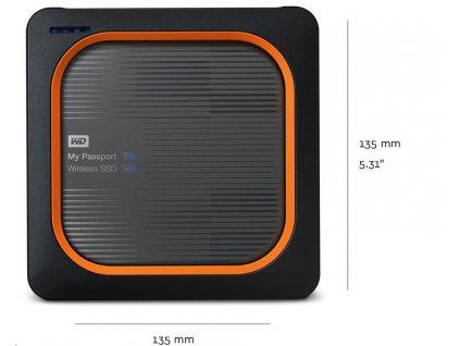 WD My Passport Wireless SSD 250GB Ext. USB3.0, SD Card,