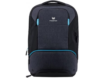 "Acer PREDATOR HYBRID BACKPACK FOR 15.6"", BLACK WITH TEAL BLUE"