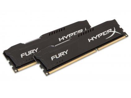 16GB DDR3-1866MHz Kingston HyperX Fury Black,2x8GB