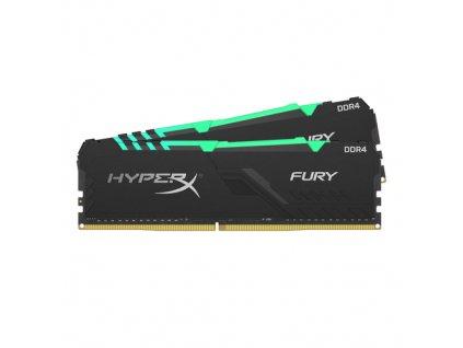 32GB DDR4-2666MHz CL16 HyperX Fury RGB, 2x16GB