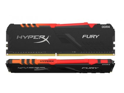 16GB DDR4-3600MHz CL17 HyperX Fury, kit 2x8GB RGB