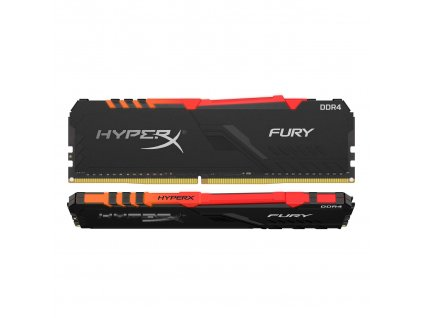 64GB DDR4-3200MHz CL16 HyperX Fury, kit 2x32GB RGB