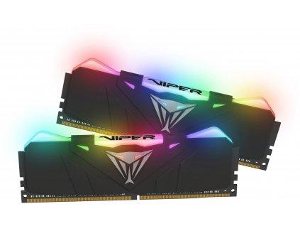 16GB DDR4-4133MHz RGB Patriot Viper CL19, kit 2x8GB black
