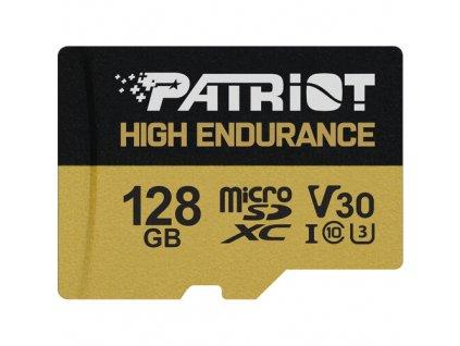 128GB microSDXC Patriot Hight Endurance V30 U3 až 95MB/s