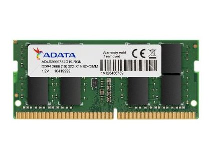SO-DIMM 8GB DDR4-2666MHz ADATA CL19