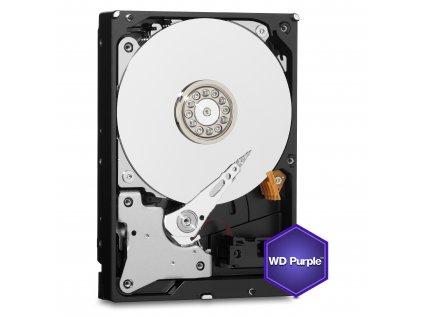 HDD 6TB WD60PURZ Purple 64MB SATAIII 5700rpm 3RZ