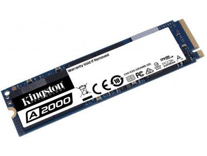 500GB SSD A2000 Kingston M.2 2280 NVMe