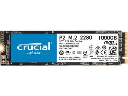 Crucial P2 1TB M.2 NVMe 2400/1800MB/s