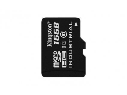 16GB microSDHC Kingston UHS-I Industrial Temp + bez adapteru