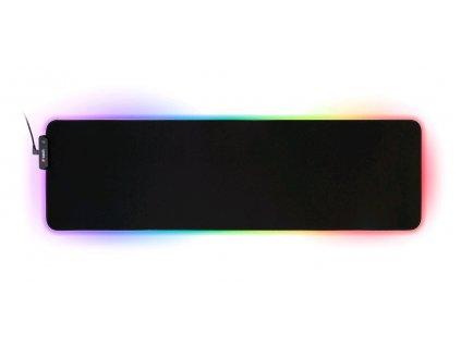 Herní podložka pod myš C-TECH ANTHEA LED XL (GMP-08XL), pro gaming, 7 barev podsvícení, USB