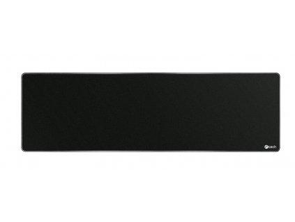 Podložka pod myš C-TECH MP-01XL, černá, 900x270x4mm, obšité okraje