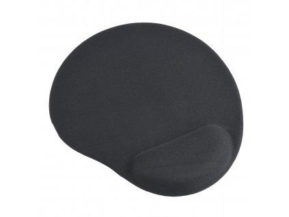 GEMBIRD podložka pod myš s podporou pro zápěstí, černá