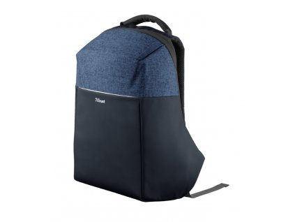 TRUST TRUNox Anti-theft Backpack for 16'' laptops - blue