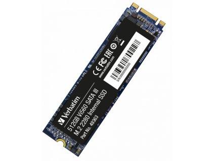 Verbatim M.2 SATA III SSD Vi560 S3, 512GB