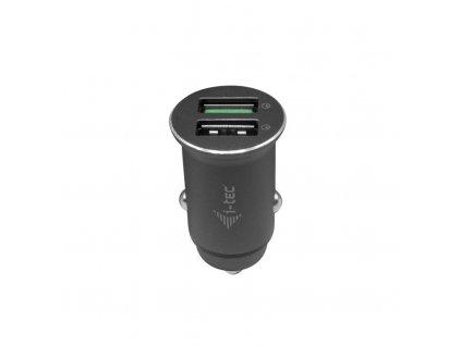 i-tec Car Charger 2x USB QC 3.0 36W