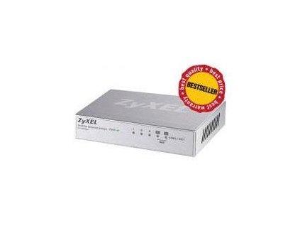 ZyXEL 5x10/100 QoS switch (metal housing) ES-105A