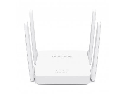 Mercusys AC10 AC1200 router, 2xLAN, 1xWAN, 4x pevná anténa