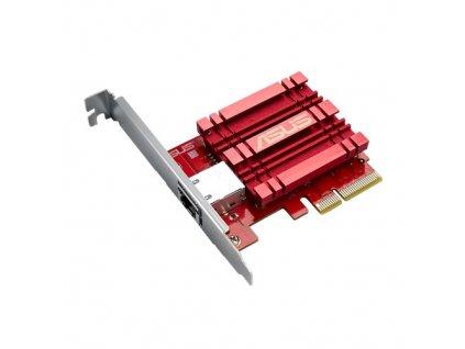 Asus XG-C100C - Síťový adap. 10GBase-T PCIe se zpět kompat. 5/2,5/1G a 100Mb/s, RJ45 a integr.QoS