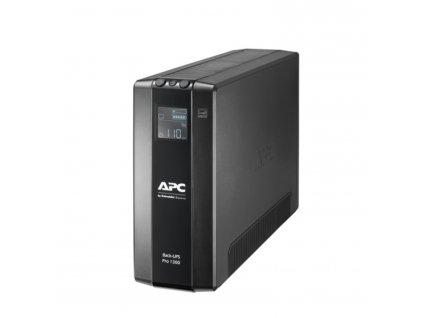 APC Back UPS Pro BR 1300VA, 8 Outlets, AVR, LCD Interface