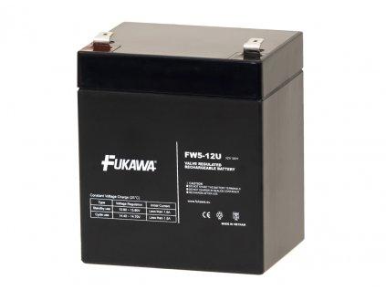 Akumulátor FUKAWA FW 5-12U (12V 5Ah)