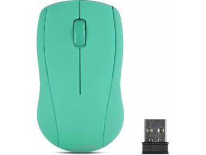 SL-630003-TE SNAPPY Mouse - Wireless USB,turquoise