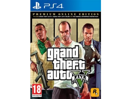 PS4 - Grand Theft Auto V Premium Edition