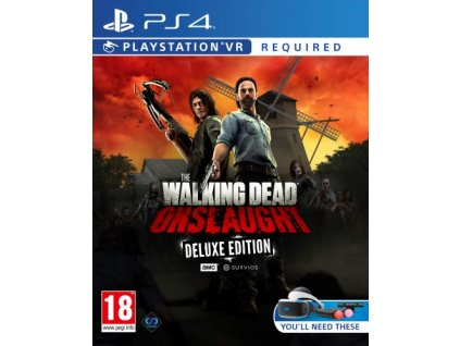 PS4 - The Walking Dead: Onslaught VR Deluxe Ed.