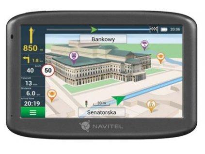 Navitel GPS navigace E505 + magnetický držák