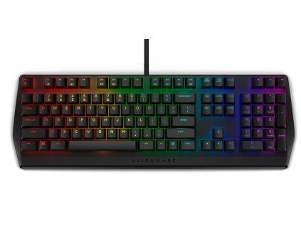Dell Alienware mechanická herní klávesnice AW410K RGB - Tmavá