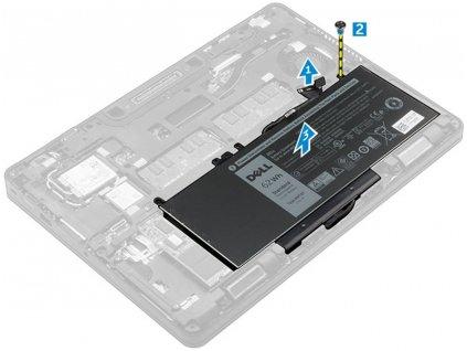 Dell Baterie 4-cell 62W/HR LI-ON pro Latitude E5270, E5470, E5570