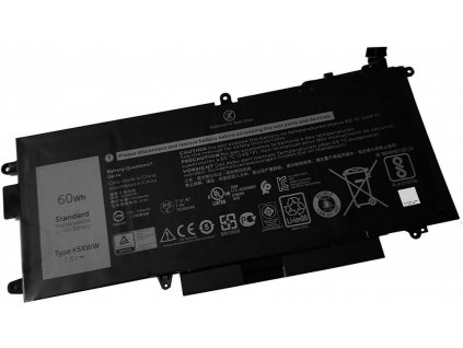 Dell Baterie 4-cell 60W/HR LI-ON pro Latitude 5289, 7389, 7390 2v1