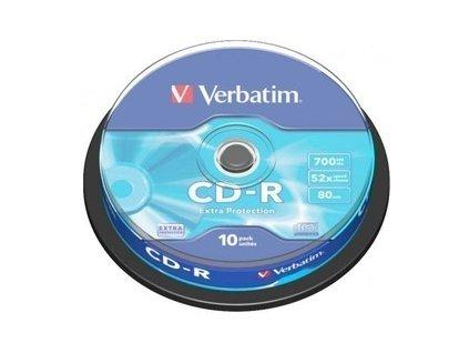 43437P CD-R 52X 10ks cake VERBATIM