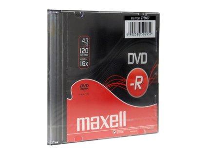 DVD-R 4,7GB 16x 1PK SC MAXELL