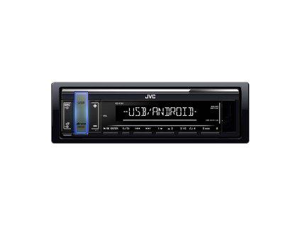 KD-X161 autorádio s USB/MP3 JVC