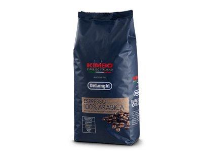 100% ARABICA zrnková káva 1kg DE LONGHI