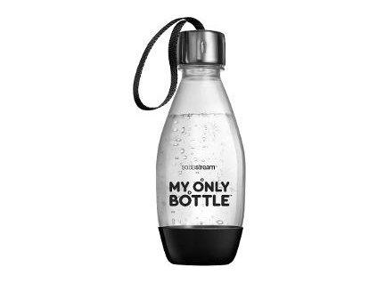 Fľaša 0,6l my only bottle čierna SODASTR