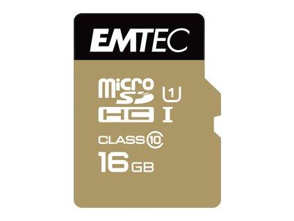 MicroSDHC 16GB Cl10 EliteGold EMTEC