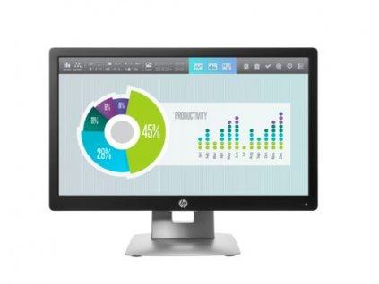 HP E202 20''IPS 1600x900/250/1000:1/VGA/DVI/DP/7ms