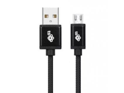 TB Touch USB - micro USB kabel, 2m, černý