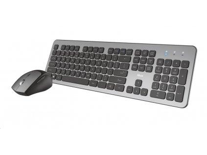 TRUST klávesnice a myš Raza Wireless Silent Keyboard & Mouse